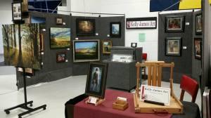 My space at Oshkosh Trade Fair in 2016