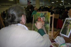 Painting at Oshkosh 2012